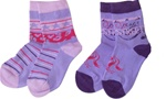 Nowali Peace and Stars Crew Socks