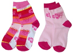 Nowali Flowers Crew Socks