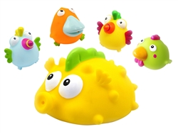 BRIGHT and FUN Set of 5 Baby and Toddler Giant Floater and Squirter Toys