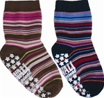 Nowali Striped Slipper Socks
