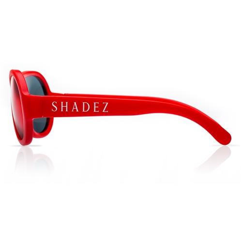 SHADEZ Kids Flex Frame Aviator Sunglasses red