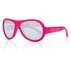 SHADEZ Kids Flex Frame Aviator Sunglasses pink