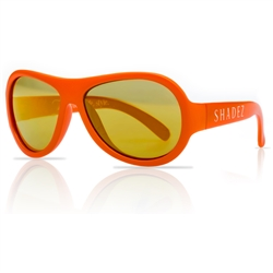 SHADEZ Kids Flex Frame Aviator Sunglasses orange