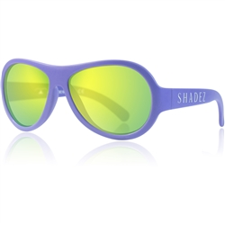 SHADEZ Kids Flex Frame Aviator Sunglasses purple